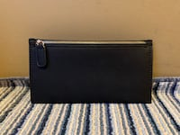 Faux Leather Black Clutch Richmond
