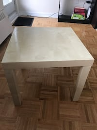 rectangular white wooden coffee table Toronto, M4P 1T9