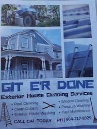 Exterior cleaning Mission