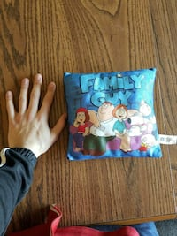 Small Family Guy Pillow