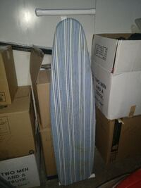 white and blue ironing board Cedar Rapids, 52402