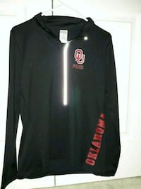 black and red PINK OU sweater Oklahoma City, 73112