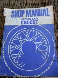 1975 Honda cb500t shop manual Niagara Falls, L2E 3K9