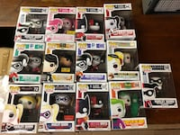 Lot of pop heroes collectibles.  Auburn, 03032