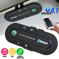 Bluetooth 4.1 Hand Free Wireless Car Speakerphone  Detroit