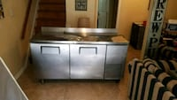 Stainless steel reach in refridgerator Alexandria, 22312