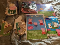 Peppa Pig Burt decorations pkg 2 Vancouver, V5X 2H3