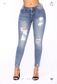 Women's blue denim jeans Toronto, M1V 2L3