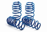 2007-2011 Kia Rio Front & Rear H&R Sport Lowering Coil Springs
