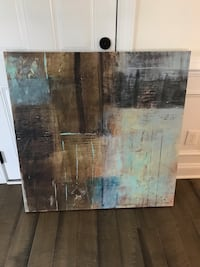 Canvas Painting - Blues and Browns Annapolis, 21403