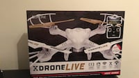 White and black quadcopter drone Calgary, T3C 1Z2