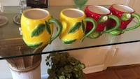 green and yellow ceramic tea set Bethesda, 20817