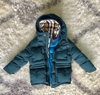 Size 5Y Authentic Burberry Puffer Coat  Toronto, M5R 1V2