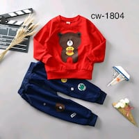 toddler's red and blue long sleeve shirt Coimbatore, 641025