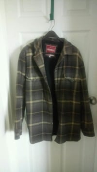 black and gray plaid button-up jacket Ottawa, K1Z 8H4