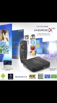 Cyclone Android X4 Tv box world tv channels Danderyd, 182 57