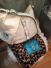 COACH Crossbody with dust bag and free COACH wallet Kitchener, N2B 3W5