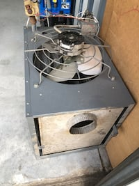 Unit heater, like new, natural gas - see description notes