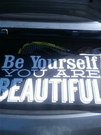 Be yourself you are beautiful quote Las Vegas, 89117