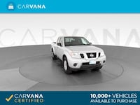2016 Nissan Frontier King Cab pickup SV Pickup 2D 6 ft Silver