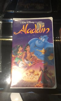 Aladdin VHS never opened