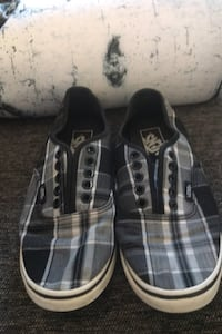 Vans Black & white check