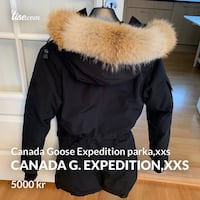 Canada Goose expedition parka i XXS Aksdal, 5570