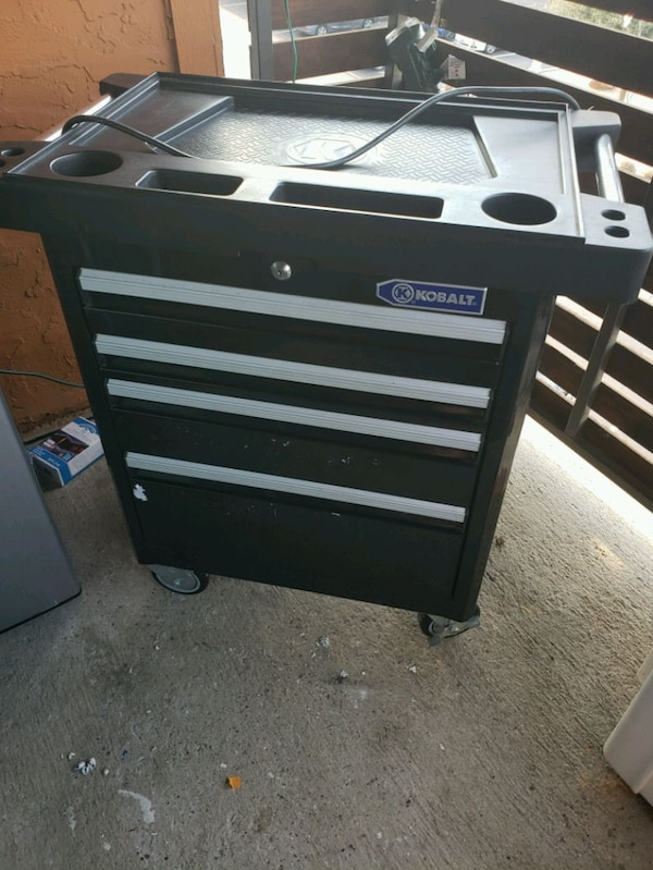 Awesome Kobalt 4 Drawer Tool Box Machost Co Dining Chair Design Ideas Machostcouk