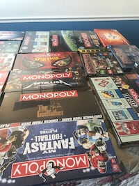 33 new in box Monopoly games Columbia, 21045