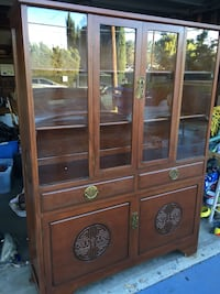 Chinese Elmwood Cabinet maintained in Beautiful condition Los Angeles, 91306