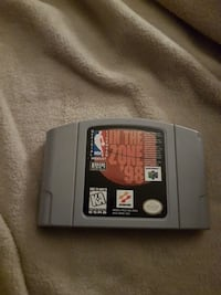 N64 basket ball game in the zone 98