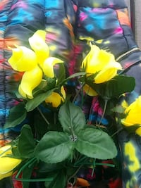 yellow artificial flowers Houston, 77099