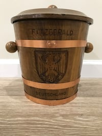 Handcrafted in Germany Early 1970s Ice Bucket Vienna, 22182