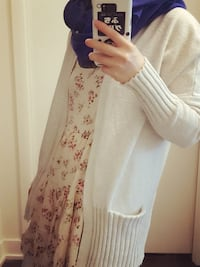 Cream color cardigan size xs Toronto, M8Y 0A7