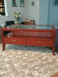 Coffee table with two side tables, real wood Milton, L9T 7N5