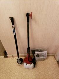 Brand new 18 inch straight shaft gas trimmer  25 mi