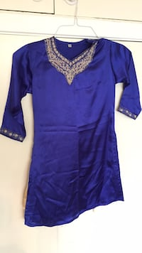 Blue and gold Indian suit  Vaughan, L4K 2L3