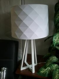 2 Contemporary table lamps