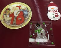 7 Christmas Plates/Dishes For Sale - Most New Burlington