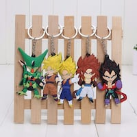 5 Dragonball Z key chains - ALL SEALED & NEW