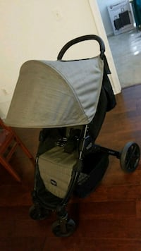 baby's black and gray jogging stroller Alexandria, 22312