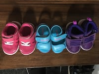 $35 for all-Size 4 baby girl's shoes  Pickering, L1V 6L2