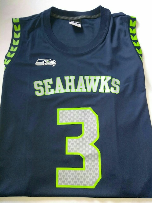 huge selection of b5a78 fd904 Seattle Seahawks authentic Russell Wilson Jersey