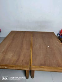 2 wooden bed for sale in wakad Pimpri-Chinchwad, 411057