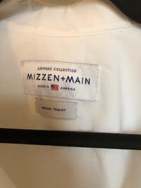 Mizzen & Main Leeward White Buttondown Washington, 20010
