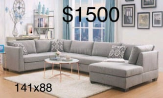 New Sectional Couch only $50 down