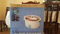 white Rachel Allen slow cooker box West Drayton, UB7 8AS