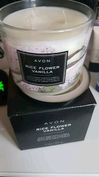new in box! rice flower vanilla 3 wick candle Richmond Hill, L4E