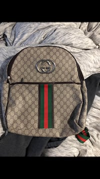 brown and black Gucci backpack Silver Spring, 20910