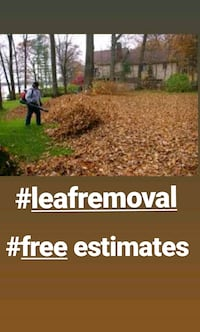 Landscaping and leaf removal